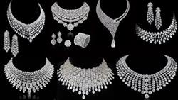 Attractive Diamond Jewellery  || Party Wear Jewellery  For Ladies..By..WCF