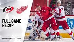 Carolina Hurricanes Vs Detroit Red Wings | Jan.16, 2021 | Game Highlights | NHL 2021 | Обзор Матча