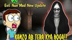Evil Nun Ken Mod - Game With Kanzo - Shiva And Kanzo Gameplay