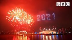 Londons 2021 Fireworks ?? Happy New Year Live! ?? BBC