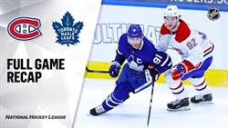 Montreal Canadiens - Toronto Maple Leafs | Jan.13, 2020 | Game Highlights | NHL 2021 | Обзор Матча