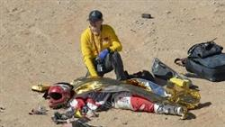Paulo Goncalves Crash Scene - Dakar News
