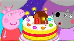 Peppa Pig Official Channel   The Giant Birthday Cake For Wendy Wolf