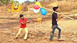 TRY TO NOT LAUGH CHALLENGE Must Watch New Funny Video 2021_By Fun Sins?Village Boy Comedy Video?Ep53