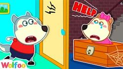 Wolfoo, Help Me! - Lucy Stuck Playing Hide And Seek - Learn Safety Tips For Kids | Wolfoo Channel